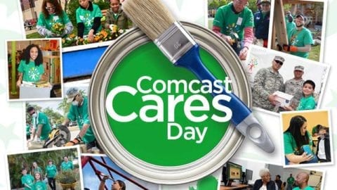 Comcast Cares Day – Register To Volunteer