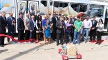 Utah STEM Bus Ribbon Cutting
