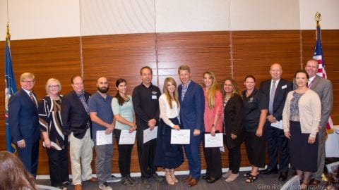 Comcast Utah Receives Provo High School's Education-Business Champion Award