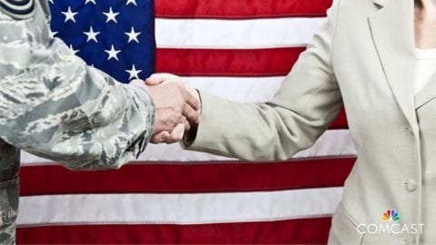 Saluting Our Military Community