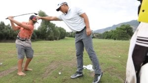 Kids Tee Off With the Pros at the Utah Championship